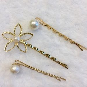 Women's fashion 3-pack Hair clips